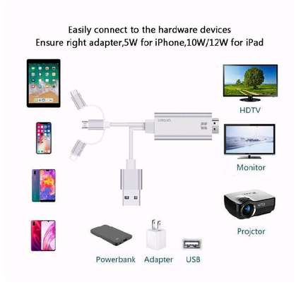 3 IN 1 HDMI cable Adapters image 1