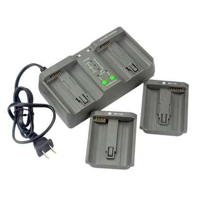 Dual Camera Battery Charger MH-26 For Nikon D5, D4, D4s, EN-EL18, EN-EL4A and EL4. Canon 1D IV, 1Ds III, LP-E19, LP-E4, LP-E4N