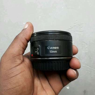 Used 50mm Canon Lens image 1