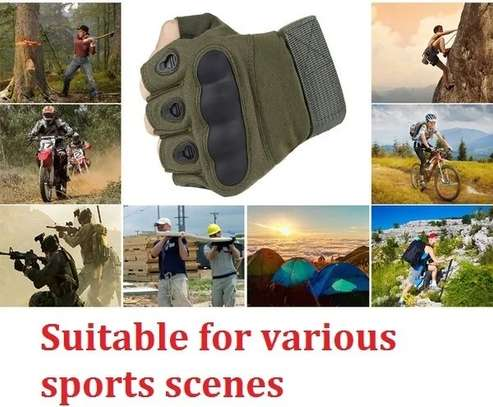 Outdoor Motorcycle Hard Knuckle Gloves Motorbike Motocross Military Tactical Cycling Gloves image 2