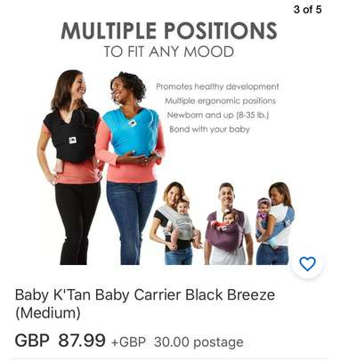 Baby Wrap Carrier image 4