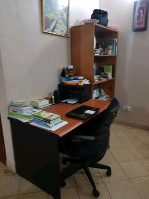 Cupboard and office table image 3