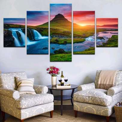 MODERN WALL CANVAS PAINTING image 5