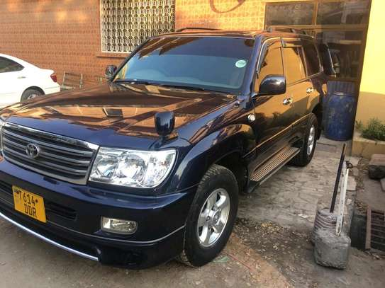 2000 Toyota Land Cruiser VX