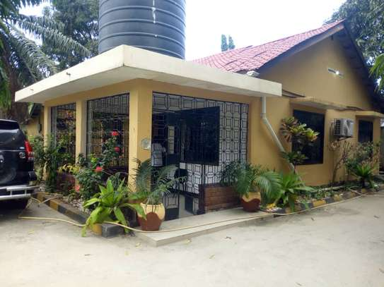 4 bed room big house with nice garden at mikocheni image 9