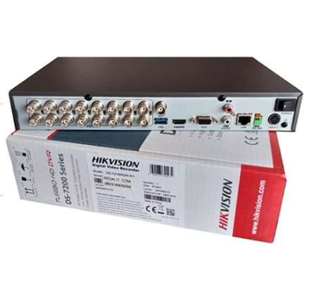 DS-7216HQHI-K1 (Turbo HD 4.0) |  ANALOG DVR | 16 CHANNEL | SECURITY VIDEO RECORDER image 1