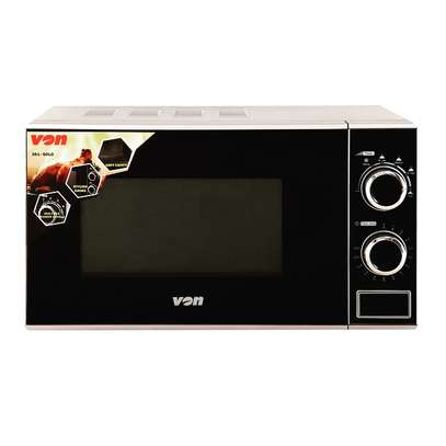 VON VAMS-20MGS Microwave Oven manual, Solo, 20L Mechanical - Silver image 1