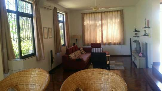 a standalone fully furnished house is for rent at mbezi beach road to whitesands image 5