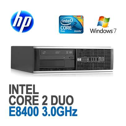 hp desktop Intel Core 2 Duo E8300 processor 2.83 GHz Ram 2GB HDD 500GB
