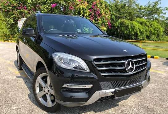 2013 Mercedes-Benz ML 350 4MATIC USD 20000 UP TO DAR PORT TSHS 76MILLION ON THE ROAD image 1
