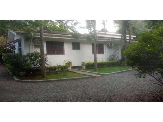 4 bed room stand alone house with gest wing for rent at masaki image 1