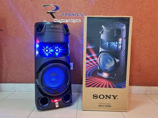 Sony MHC-V43D High Power Party Speaker with Bluetooth Technology image 2