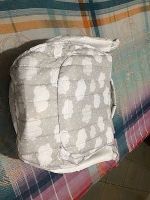 New born portable Baby Bed with mattress and music image 4