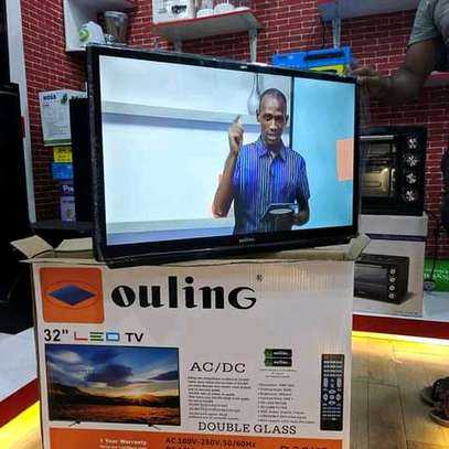 OULINE 32 INCH SMART ANDROID DOUBLE GLASS...415,000/= image 1