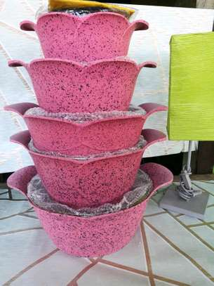 Granite pots and dishes