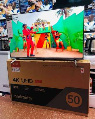 TCL UHD SMART TV 4K 50 INCH image 2