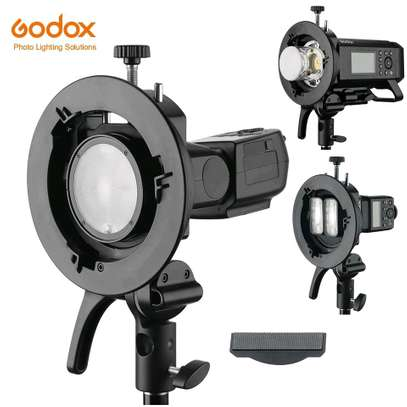 Godox S2 Bowens Mount Flash. S-type Holder Bracket