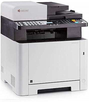 Kyocera Ecosys M5521cdw WiFi All-in-one Colour Laser Multifunction Printer, Scanner, Copy & Fax. Mobile Print Support.