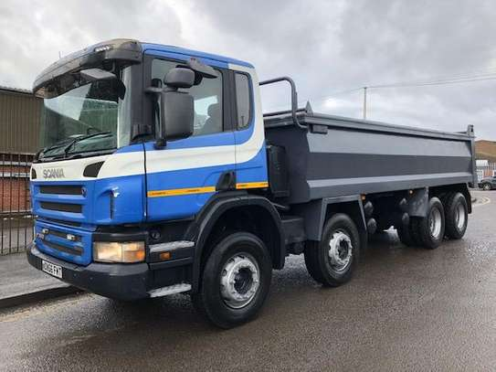 2007 Scania P380 8X4 TIPPER 128MILLION image 1