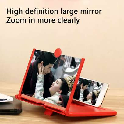 12 Inch 3D Screen Amplifier Portable Mobile Phone Magnifying Glass HD Stand Eyes Protection Holder For Video Folding Screen Enlarged image 7