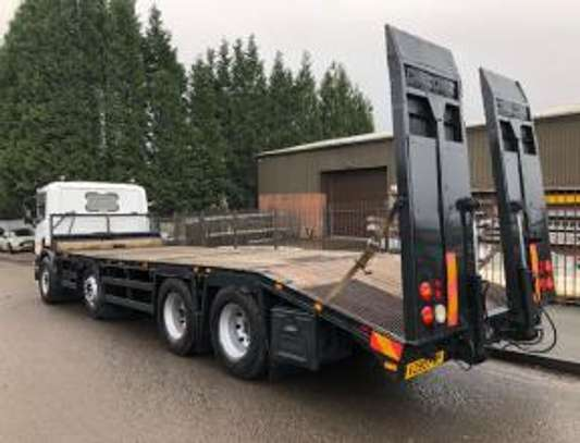 2000 Scania 114 340 8X2 FLATBED  TSHS92MILLION ON THE ROAD image 3