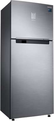 Samsung RT49 Refrigerator Double Door Fridge, 384L, Non Frost, LVS - Silver image 3