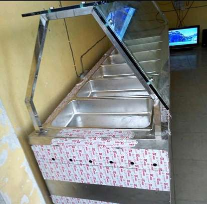 6 Pan Electric Commercial Food  Warmer Steam Table (BUFEE)... 1,350,000/=