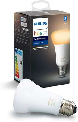 Philips Hue White Ambiance Smart E27/B22 LED | Bluetooth, Works with Alexa and Google Assistant image 1