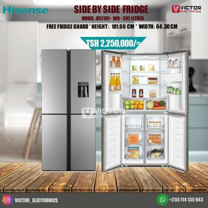 HISENSE SIDE BY SIDE REFREGERATOR H520FI-WD image 1