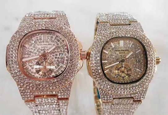 Patekphillipe and rolex watches