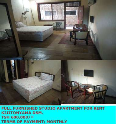 FULL FURNISHED STUDIO FOR THE RENT