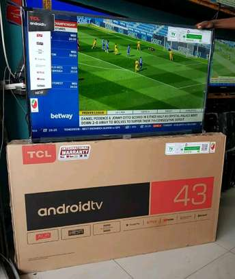 TCL INCH 43 ANDROID TV image 1
