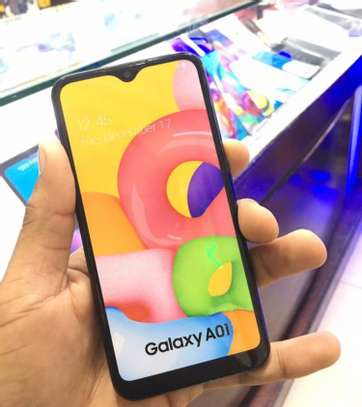 """SAMSUNG A01 GB 16 """"Buy NOW GET FREE COVER !! image 2"""