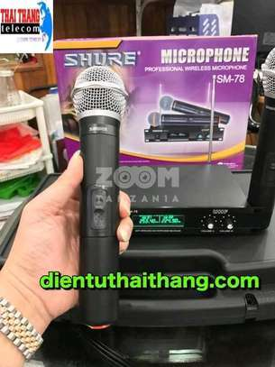 SHURE WIRELESS MIC SM 78 image 1