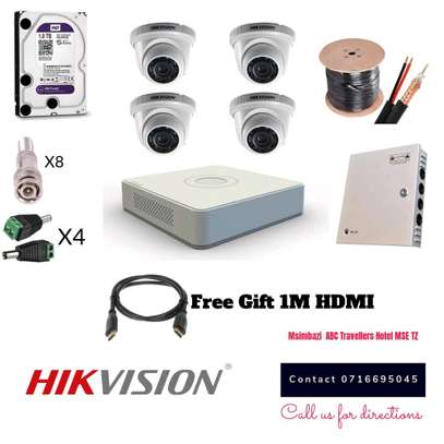 CCTV SECURITY-4 CAMERA PACKAGE