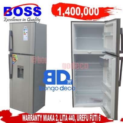 Boss 440L Double Door Refrigerator