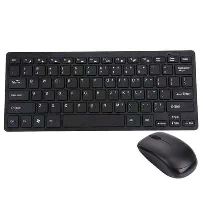 Wireless MINI keyboard and mouse free Delivery dsm image 2