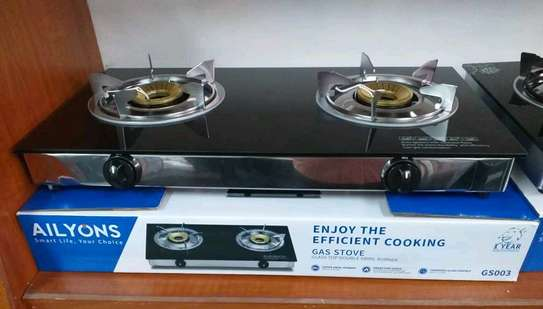 2 plates Gas cooker image 1