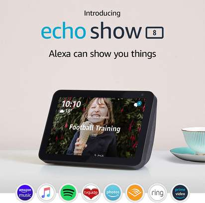 "Echo Show 8 | 8"" HD smart display with Alexa"
