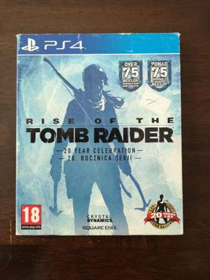 Rise of the Tomb Raider Play Station 4