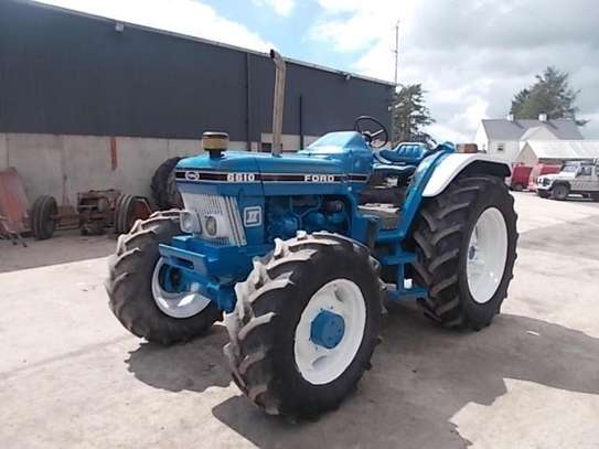 1992 Ford 6610 4WD FARM TRACTOR image 2