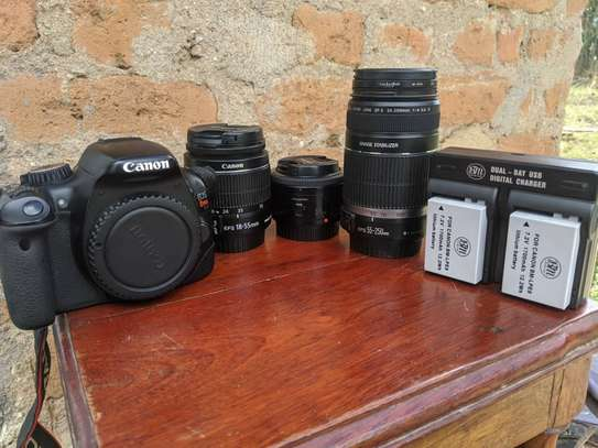 Canon 550d/T2i Bundle