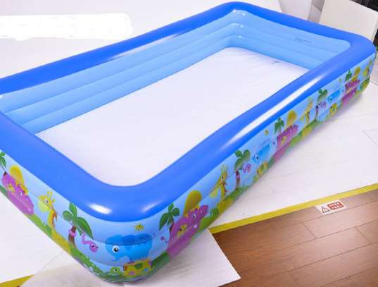 Largest Family Inflatable PVC Swimming Pool (305*180*56)cm