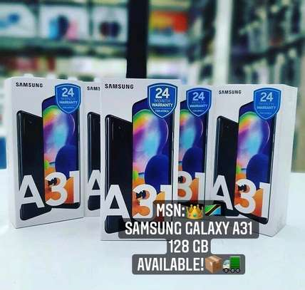 SAMSUNG Galaxy A31 GB 128 PATA offer➖( Cover & Delivery BureE ) image 2
