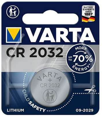 Varta battery, Lithium CR2032 image 1