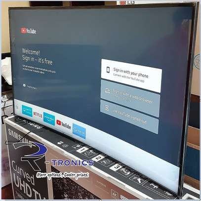 Samsung Curved 55″ 4K UHD 7 Series Smart TV With HRD image 1