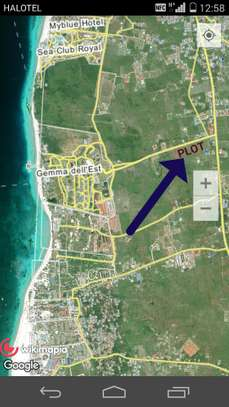 ROAD PLOT FOR SALE AT NUNGWI VILLAGE image 1