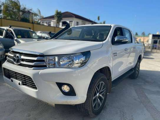 2017 Toyota Hilux Double Cabin Mpya Chasses Number image 7