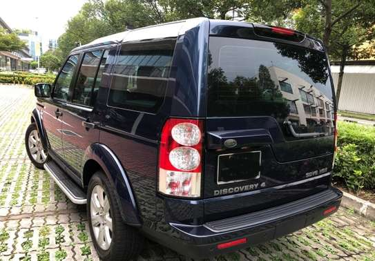2013 LAND ROVER DISCOVERY 4 SDV6 HSE USD 21150 UP TO DAR PORT TSHS77MILLION ON THE ROAD image 2