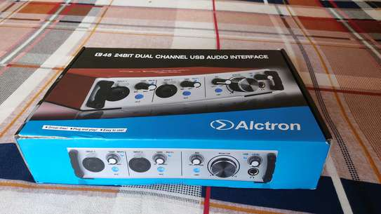 Audio interface Alctron soundcard image 3